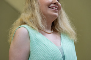 Soprano Kerry Firth singing